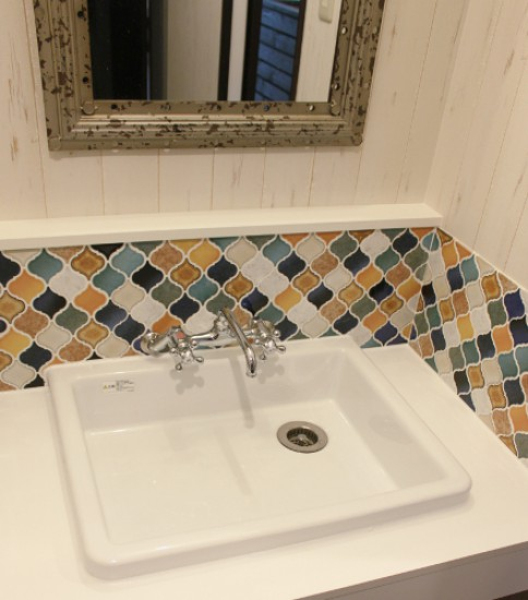 CORABEL TILE + WASH BASIN
