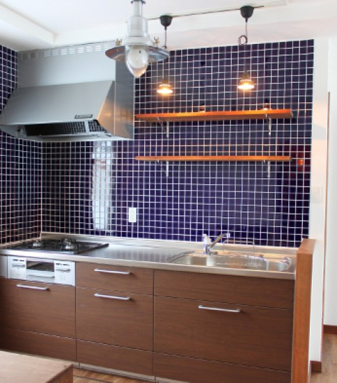 NAVY TILE & KITCHEN