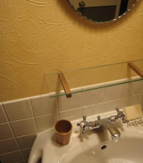 ぺデスタルの洗面台